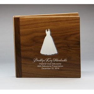 "8.5"" x 11"" - Hardwood Albums - Color Printed - USA-Made"