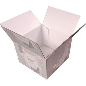 "6"" x 6"" - Shipping Boxes - Customizable Size and Decoration"