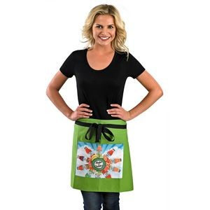 Short Bistro Apron w/Pockets