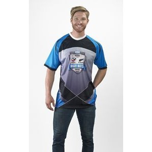 Short Sleeve Raglan Sleeve Crew Neck Shirt