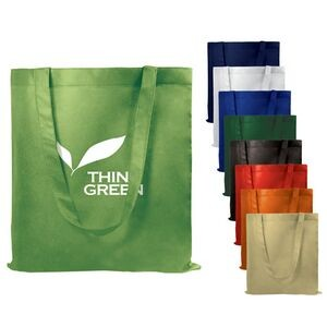 Value Flat Reusable Non Woven Tote Bag