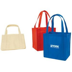 Non-Woven Tote Bag w/Plastic Bottom
