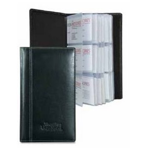 Atlantis Leather 3-Row Business Card File
