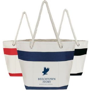 Nautical Panel Tote