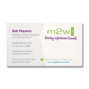 Hemp Business Card