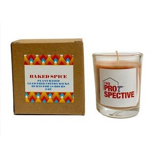 Baked Spice Plant Based Candle with Box
