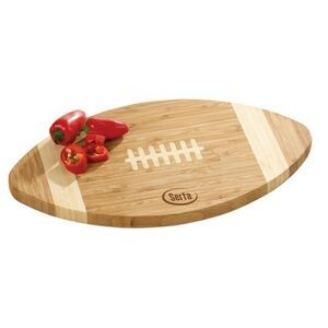 Bamboo Football Cutting Board