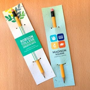Single-Sided Plantable Pencil Sleeve