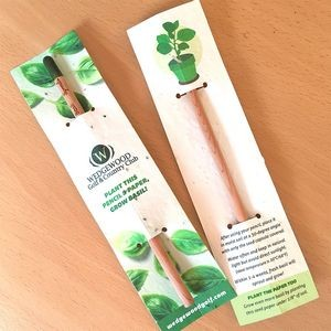 Sprout Pencil With Double-Sided Basil Seed Paper